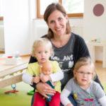 Nina mit Lotte und Luise
