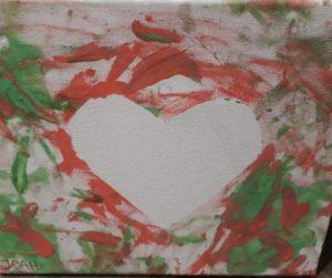 Herz malen